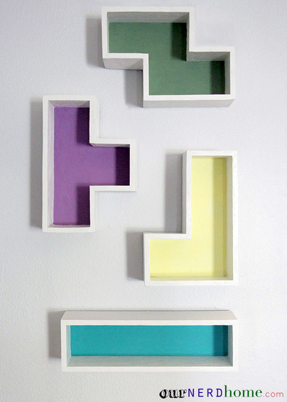 Superior Geek Home Decor: DIY Tetris Shelves Ideas