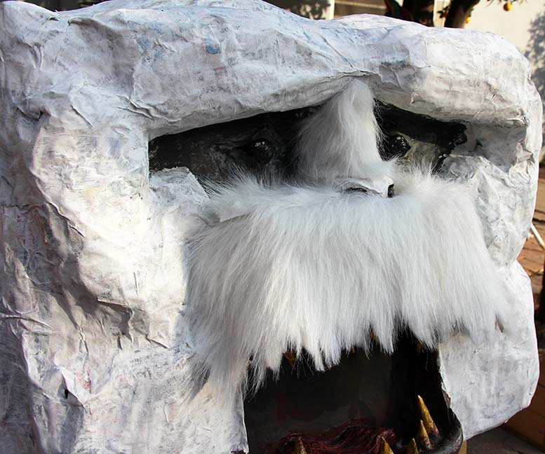 Wampa Head Taxidermy