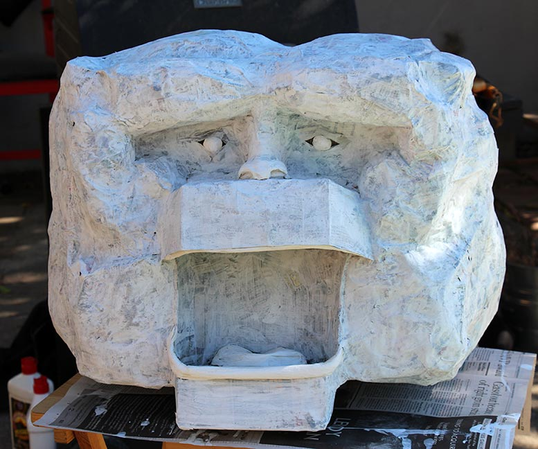 Make a Wampa head