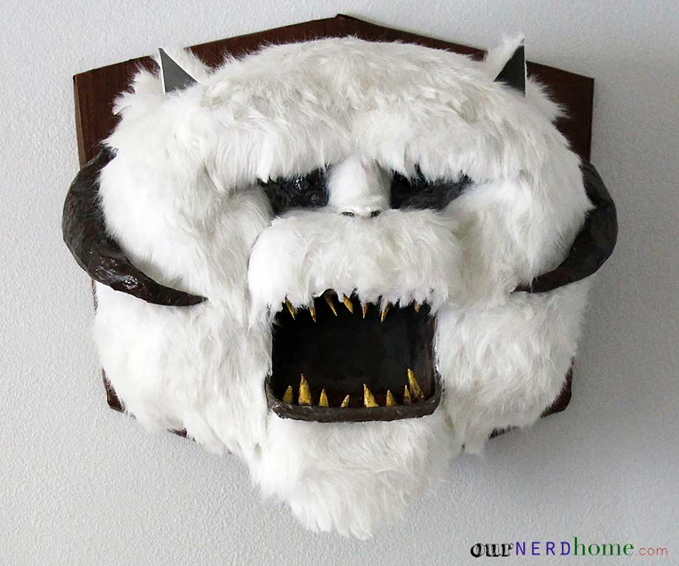 DIY Wampa Head Taxidermy