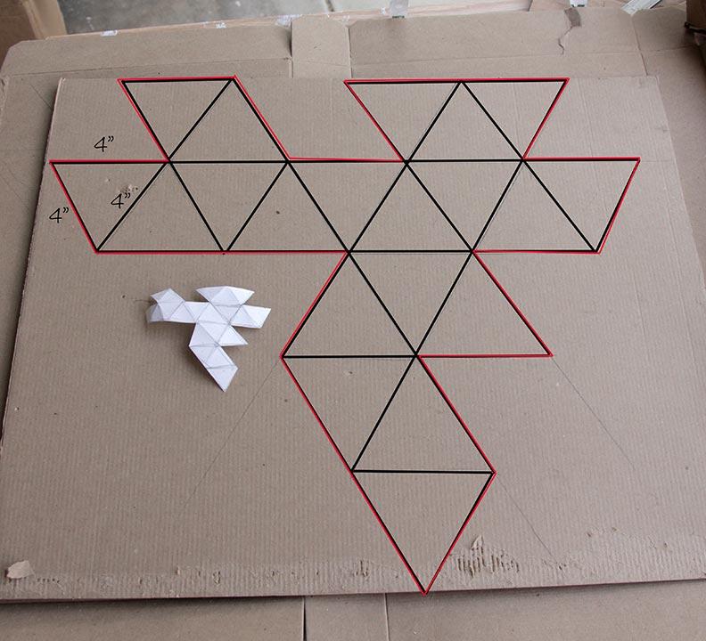 Papercraft DIY D20