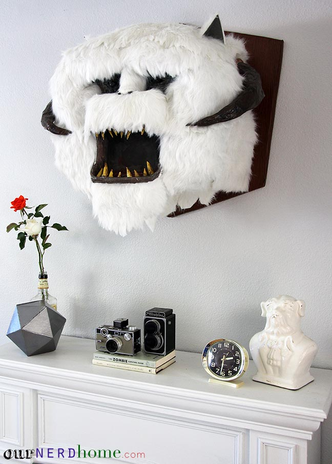 Wall Mounted Wampa Head DIY