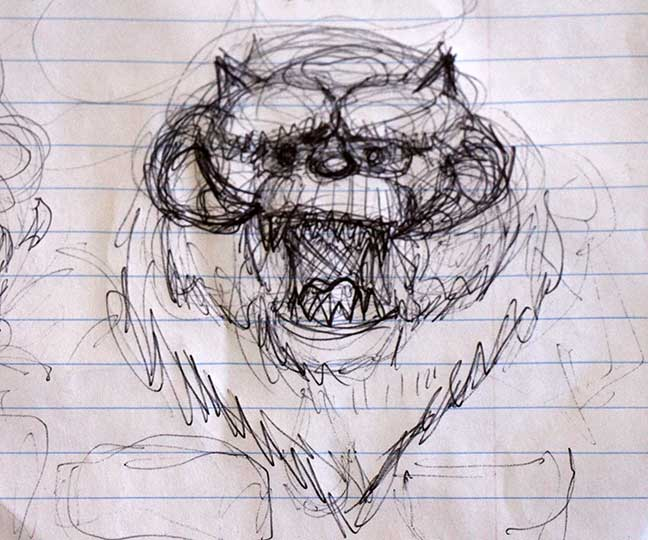 Wampa-Head-Sketch