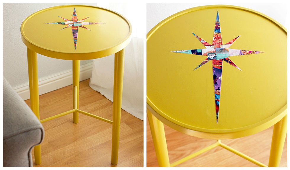 Nice Comic Book Crafts   DIY Mid Century Table