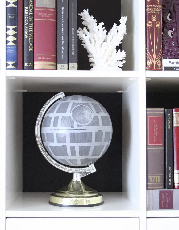 DIY Death Star Globe