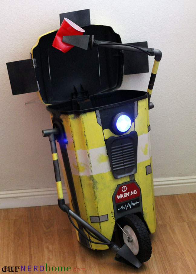DIY Claptrap Trash Bin - Borderlands 2