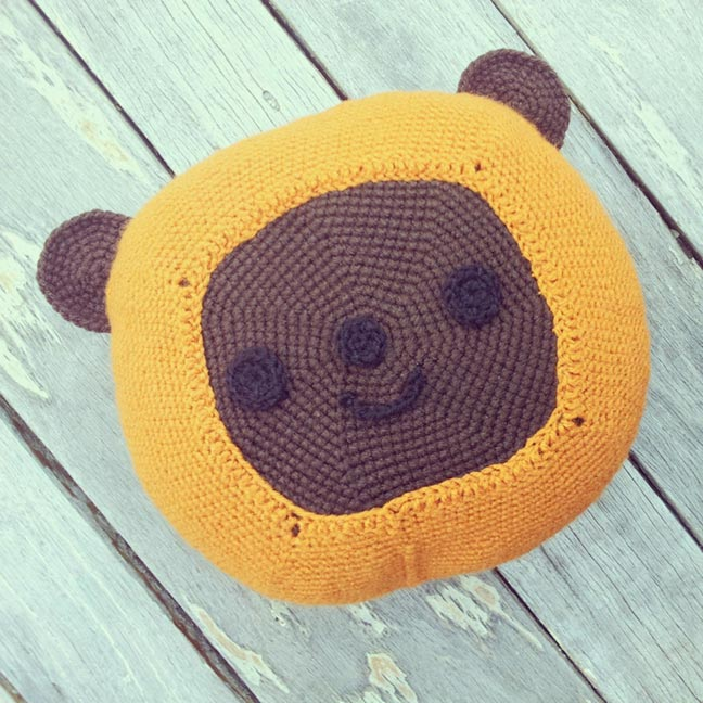 DIY Star Wars Ewok Cushion