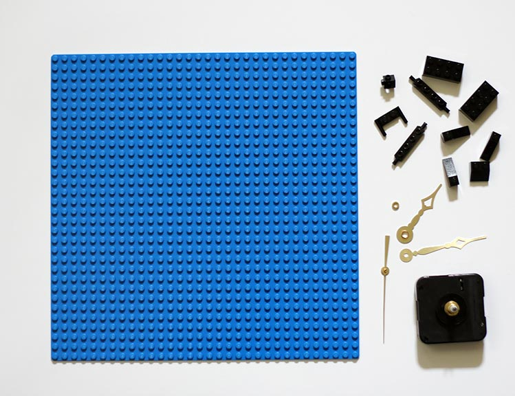DIY LEGO Clock