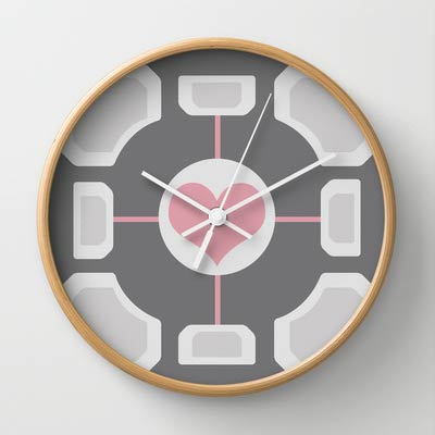 Portcal-Companion-Cube-Clock