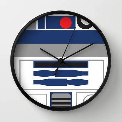 R2D2-Star-Wars-Clock