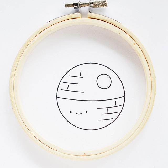 DIY Star Wars Embroidery Patterns