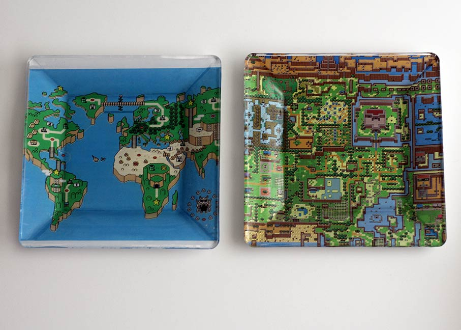 DIY Geek Dishes - Super Mario Bros, Hyrule