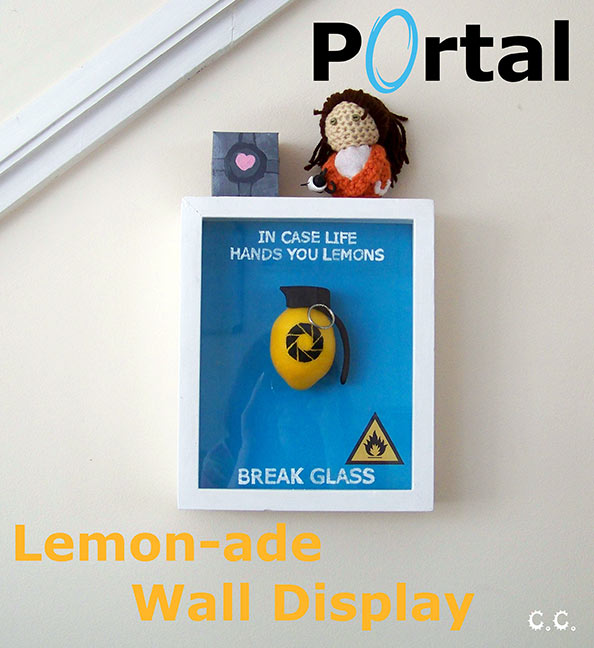 DIY Portal Combustible Lemon