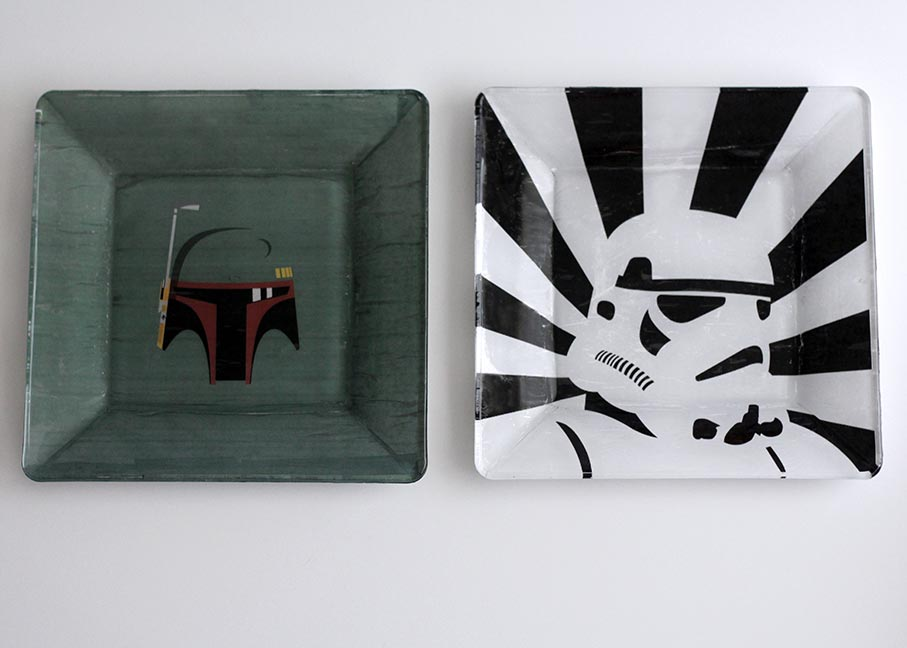 DIY Star Wars dishes