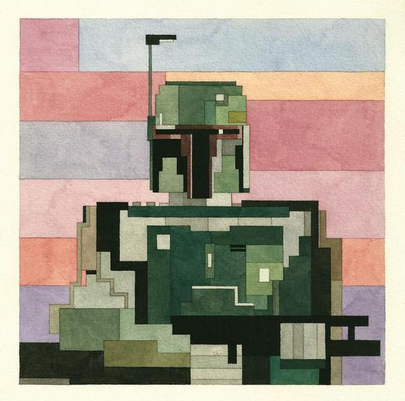8-Bit Geek Art Prints by Adam Lister