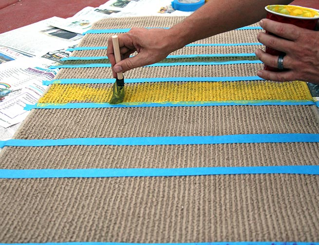Make your own DIY Doctor Who runner carpet