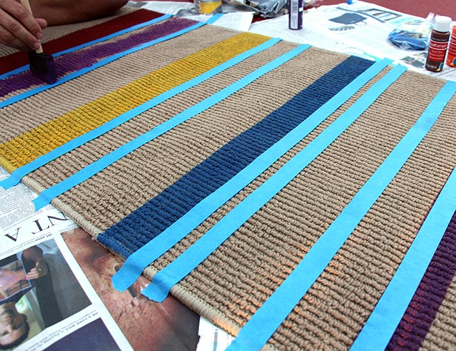Make your own Doctor Who Runner Carpet