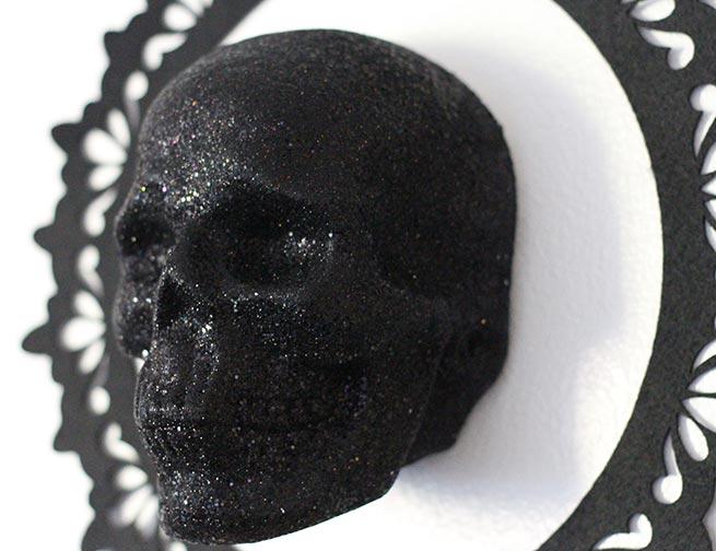 DIY 3D Skull Art
