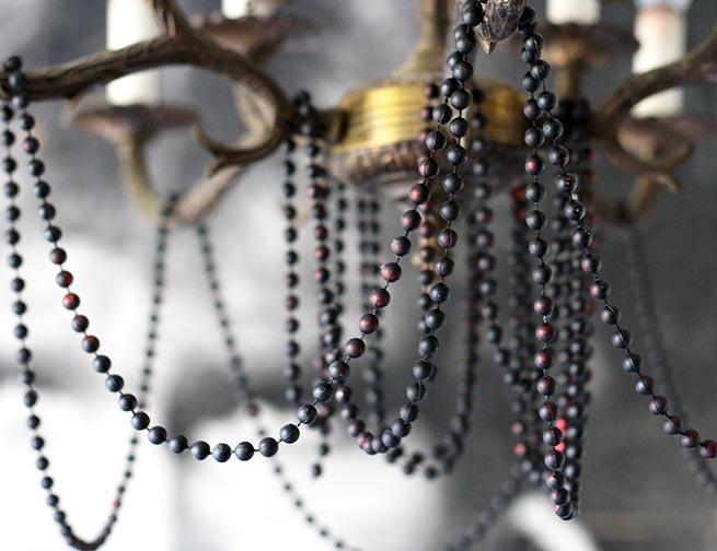 DIY Chandelier beads