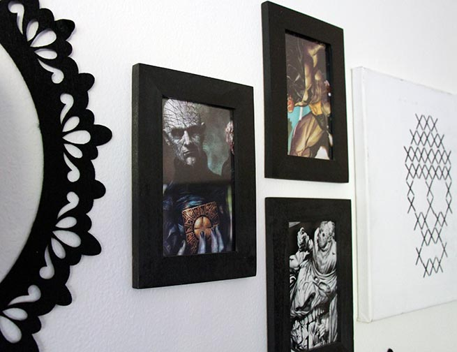 DIY Geeky Home Decorations