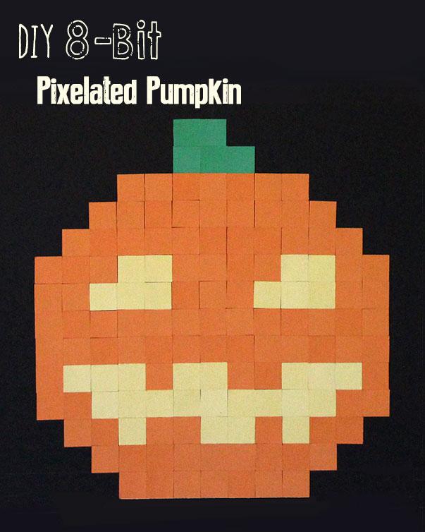 DIY 8bit Pumpkin