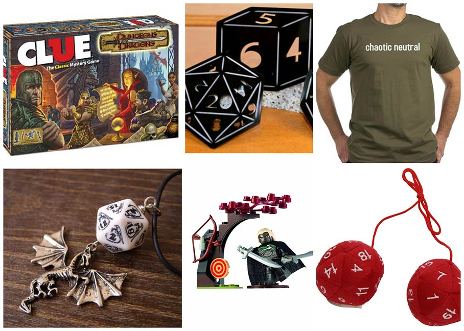 Dungeons and Dragons gifts