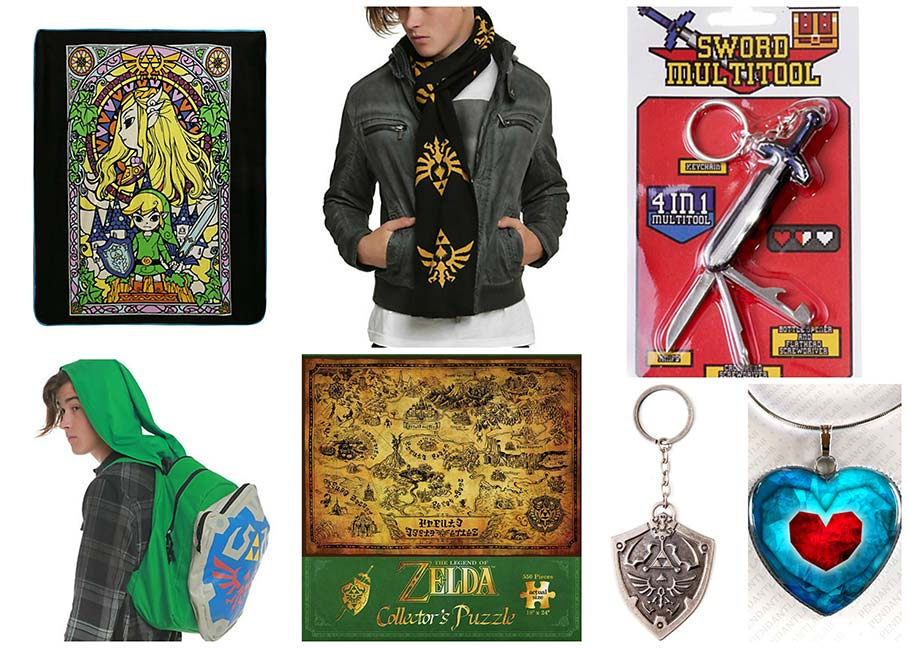 Geek Gifts: Legend of Zelda gifts