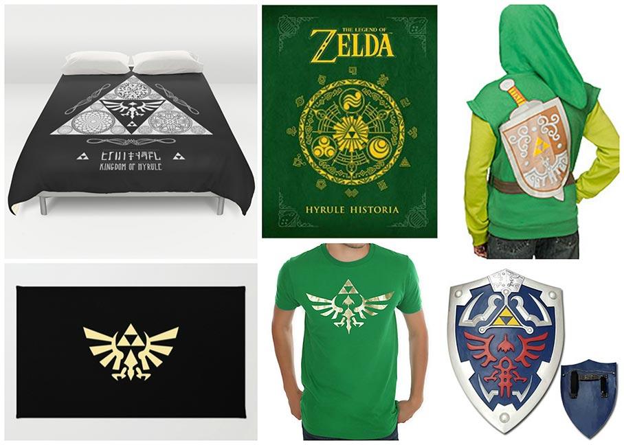 Geeky gifts: Legend of Zelda gamer gifts
