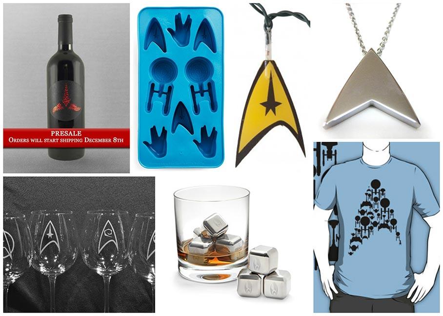 Geeky Gift Ideas: Star Trek gifts