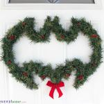 DIY Batman Wreath - Our Nerd Home