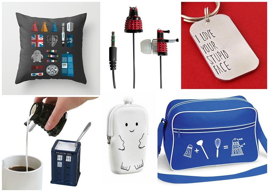 Geek Gift Ideas: Doctor Who Gifts