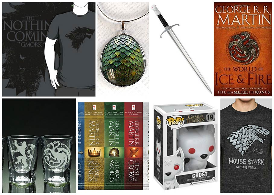 Game of Thrones geeky gifts