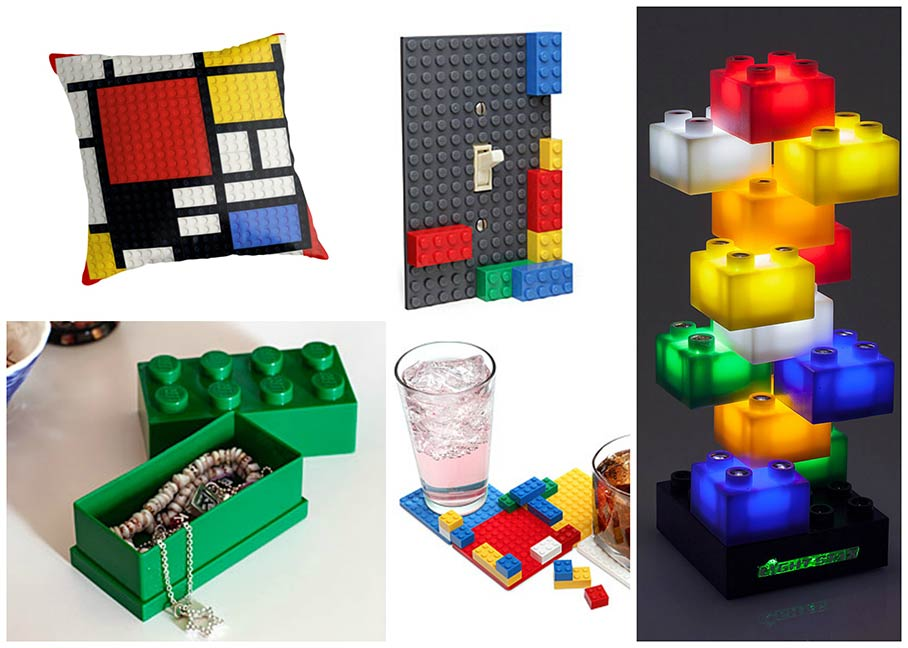 Geeky Gifts - LEGO gifts
