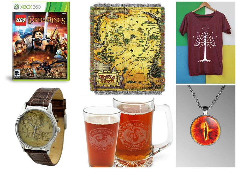 Geeky gift ideas: Lord of the Rings