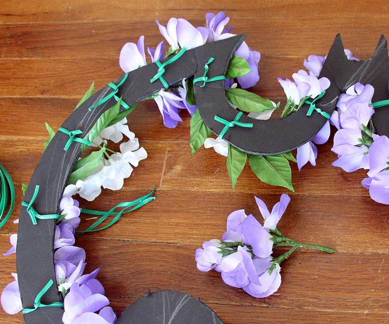 Geek Decor - Batman Wreath