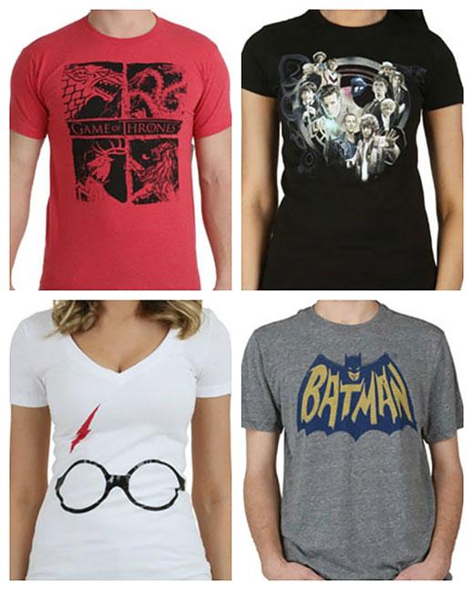 Geeky shirts