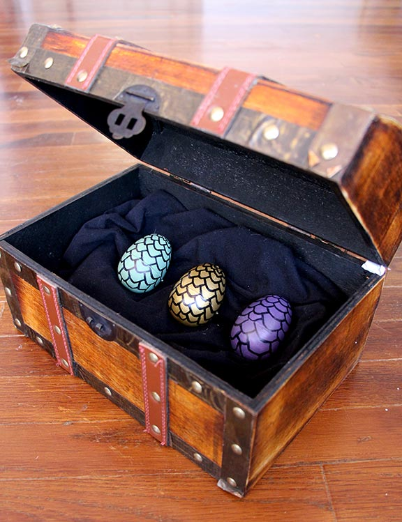 Geeky Decor - Game of Thrones Eggs in chest