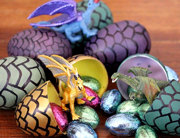 Game of Thrones party ideas - DIY Game of Thrones egg