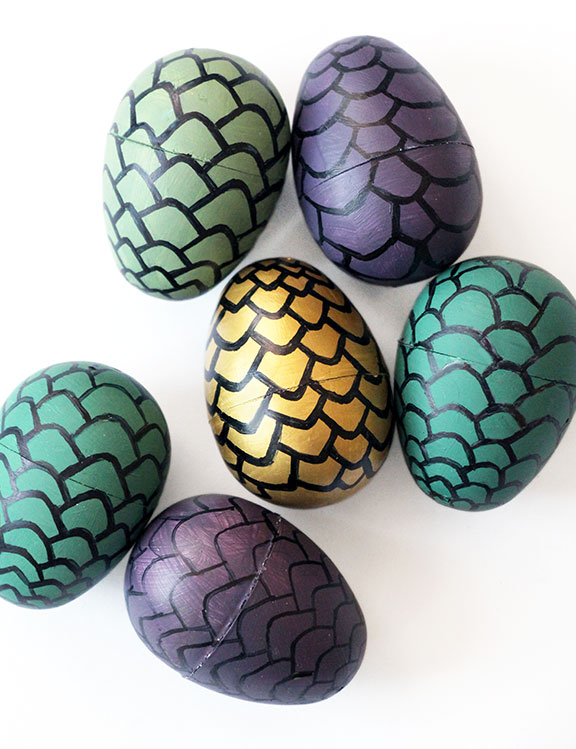 Game of Thrones party ideas - DIY Game of Thrones Dragon Egg