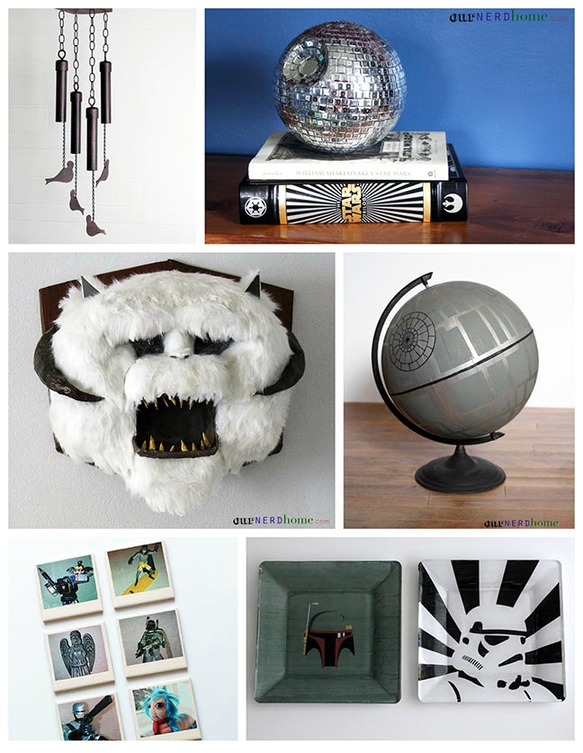 DIY Star Wars Geek Home Decor