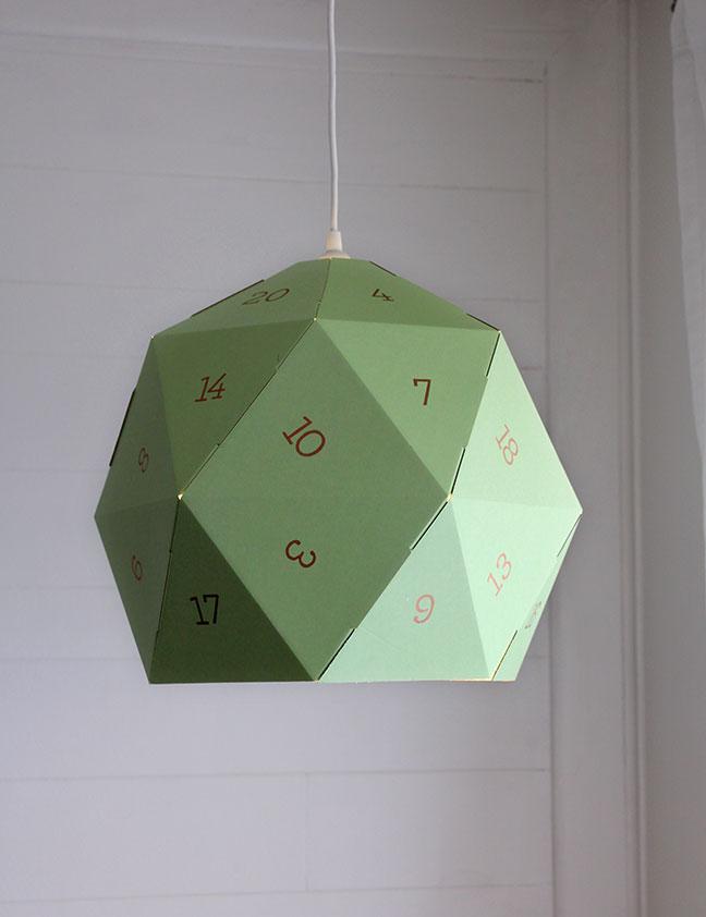 DIY D20 Lamp