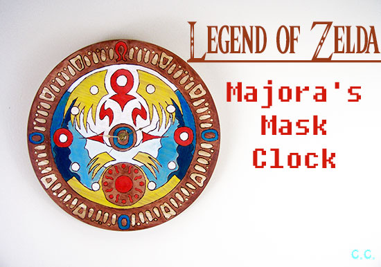DIY Geek Decor - Legend of Zelda clock