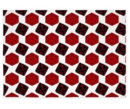 Geeky area rug
