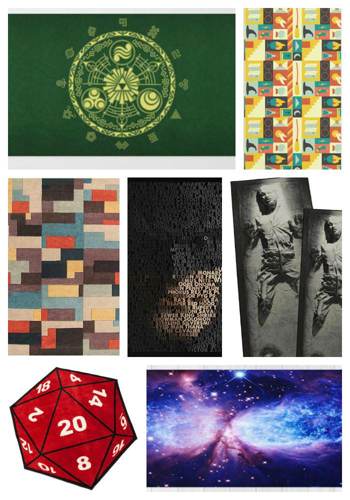 17 Best Geeky Area Rugs