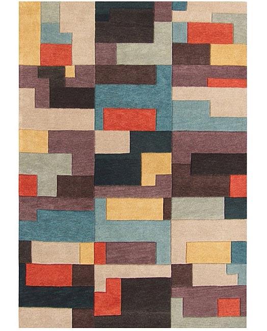 Geeky rugs - Tetris rug