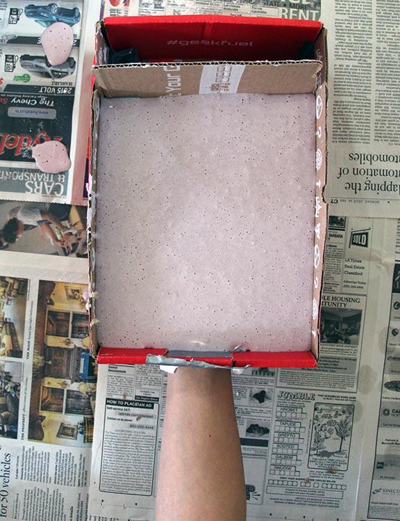 Alginate hand mold - horizontal