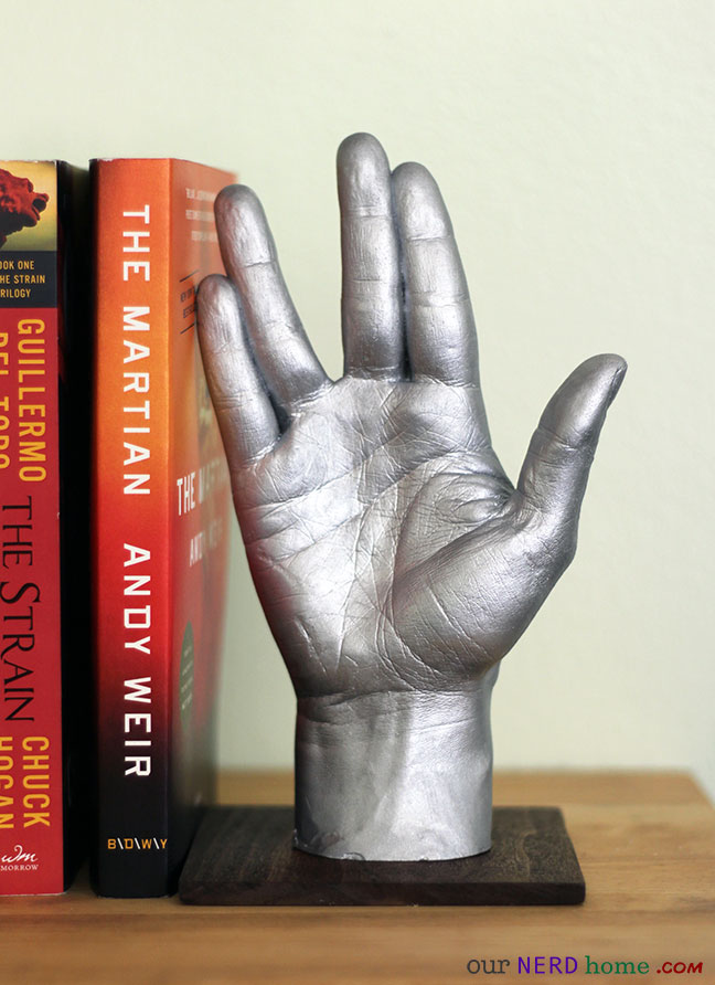 DIY Star Trek bookend - LLAP