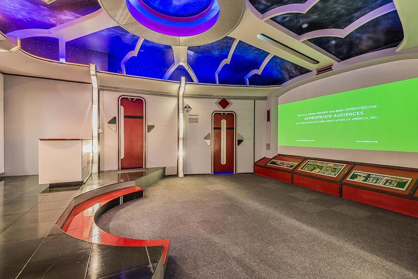 Star trek movie theater
