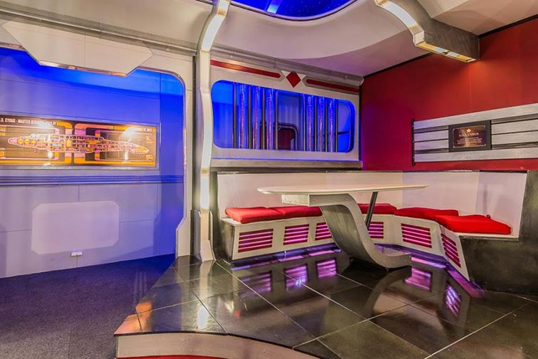 Star Trek themed house