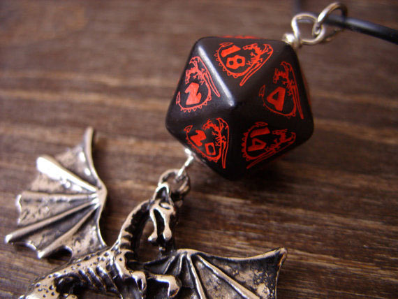 D20 Necklace - MageStudio Our Nerd Home Giveaway